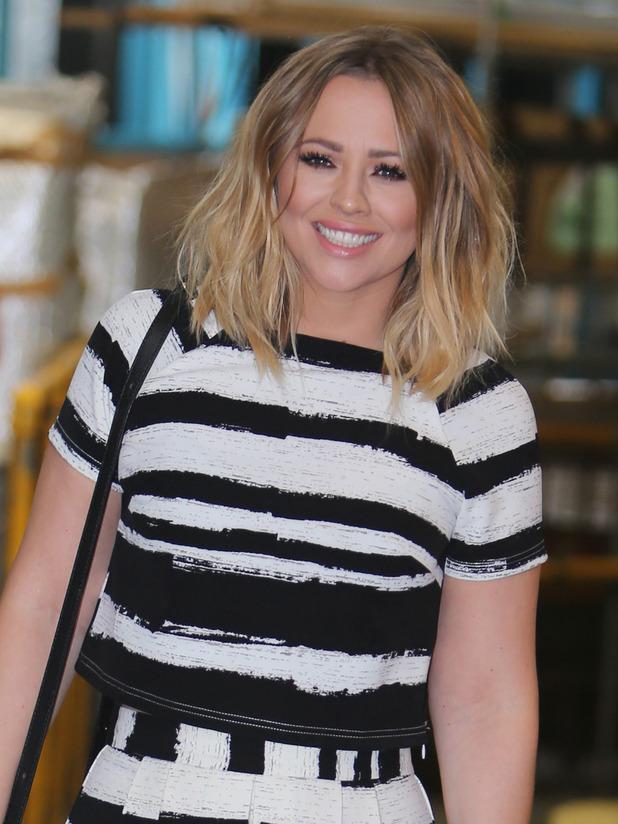 Kimberley Walsh outside the ITV Studios 12/06/15