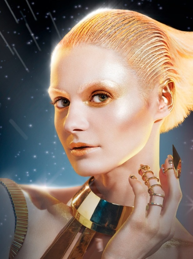 Max Factor Droid inspired by Star Wars created by Pat McGrath