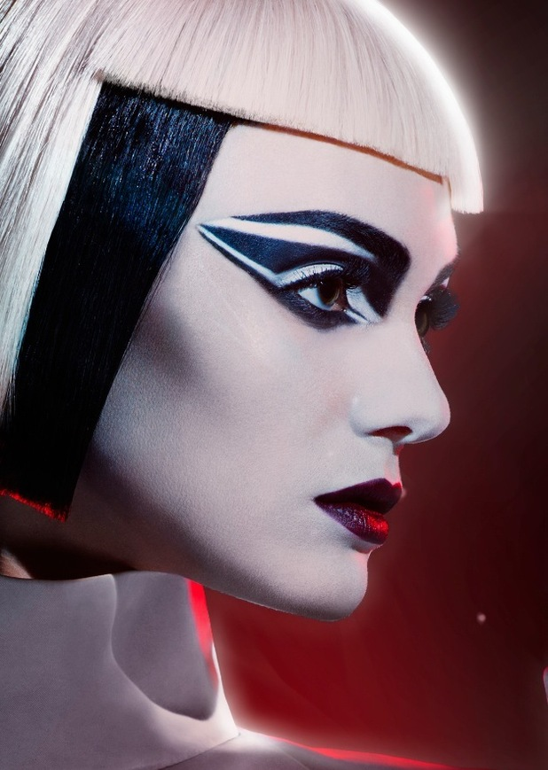 Max Factor Stormtrooper inspired by Star Wars created by Pat McGrath