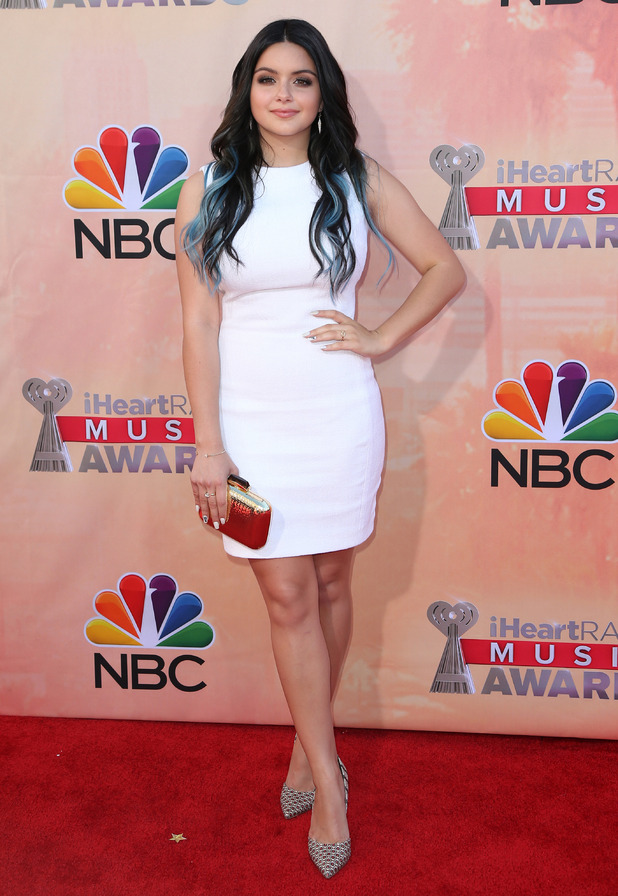 Modern Family actress Ariel Winter at the 2nd Annual iHeartRadio Music Awards - 29 March 2015.