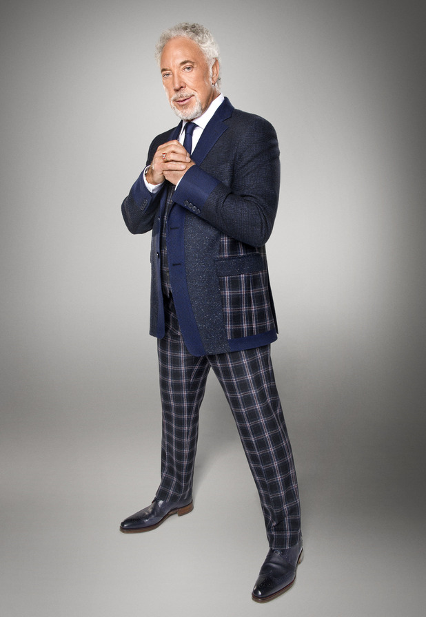 Tom Jones - The Voice UK promo photo. January 2015.