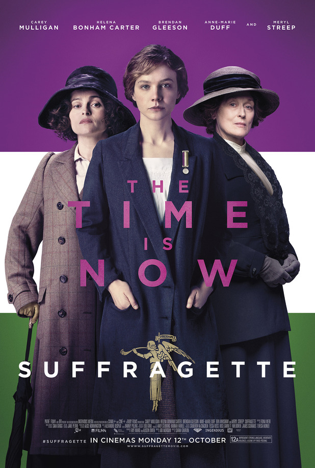 Suffragette film poster unveiled due for release on 12 October 2015.