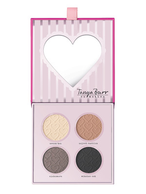 Tanya Burr fairytale eye palette from her new collection, August 2015