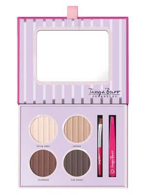 Tanya Burr perfect brows palette from her new collection, August 2015