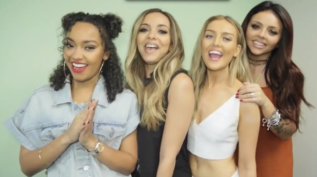 Jade Thirlwall, Jesy Nelson, Leigh Anne Pinnock, Perrie Edwards of Little Mix, announce new single, 21st August 2015