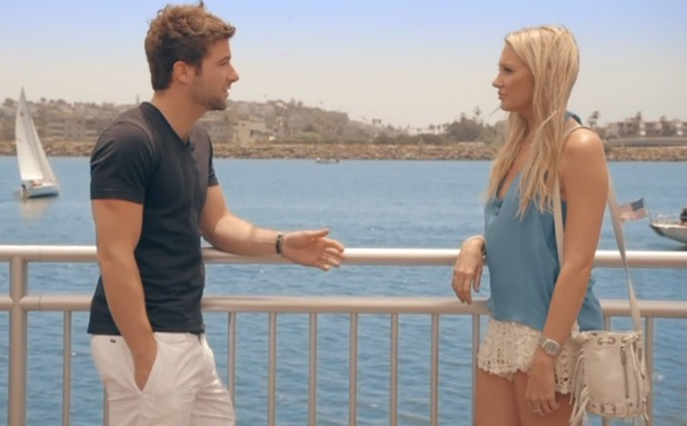 Stephanie Pratt and Josh Shepherd split in Made In Chelsea: LA. Aired: Monday 18 August 2015.