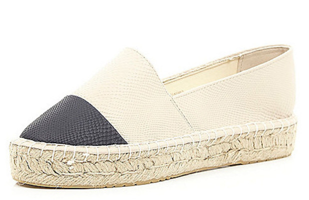 River Island espadrilles, 24 19th August 2015