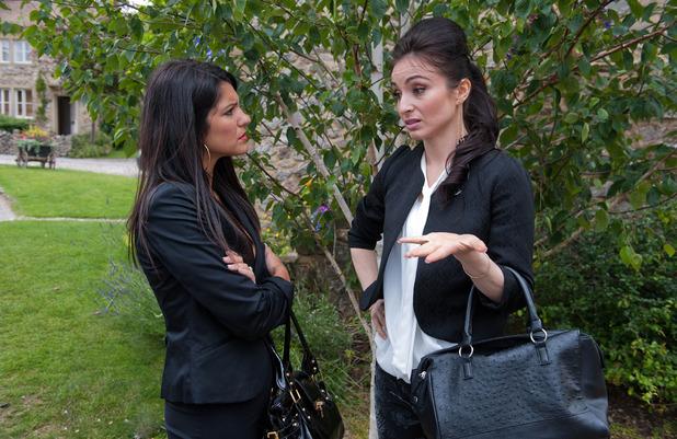 Emmerdale, Leyla confides in Alesha, Wed 19 Aug