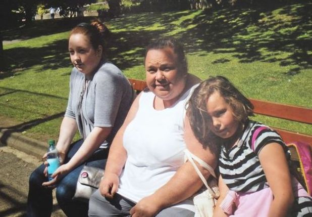 Caring for carers campaign - Iona Shanks with mum and sister