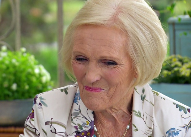 Mary Berry on Comic Relief Bake Off, February 2015