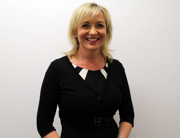 BBC Breakfast Weather Presenter Carol Kirkwood signs up for Strictly Come Dancing - 18 August 2015.