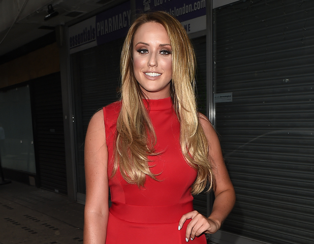 Charlotte Crosby attends In The Style's Summer Party at The Drury Club on July 16, 2015 in London, England.