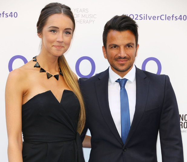 Peter Andre and Emily MacDonagh at Nordoff Robbins O2 Silver Clef Awards - 5 July 2015.
