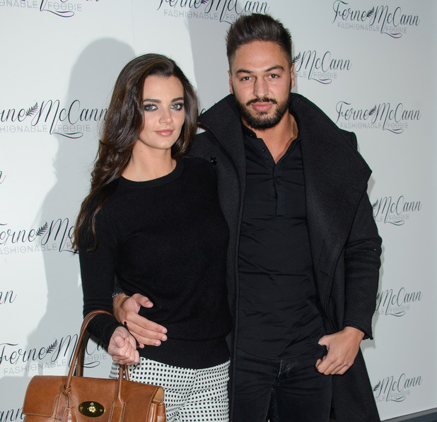Emma McVey and Mario Falcone at Ferne's blog launch - 5 February 2015.