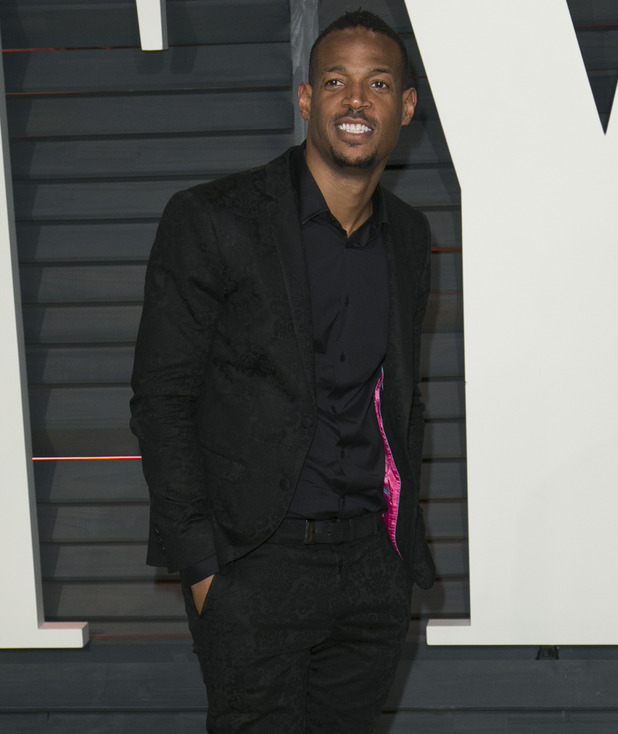 Marlon Wayans attends the 2015 Vanity Fair Oscar Party at Wallis Annenberg Center for the Performing Arts with City Hall in Beverly Hills, 22nd February 2015