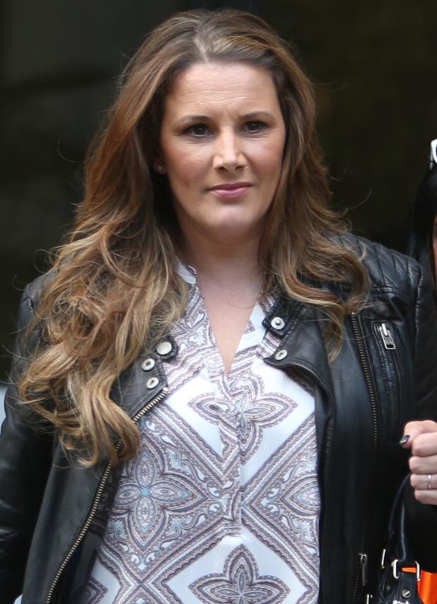 X Factor star Sam Bailey outside ITV Studios - 22 June 2015.