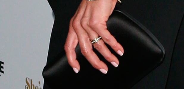 Film Premiere She's Funny that way Jennifer Aniston: first post-marriage premiere and first wedding ring pictures
