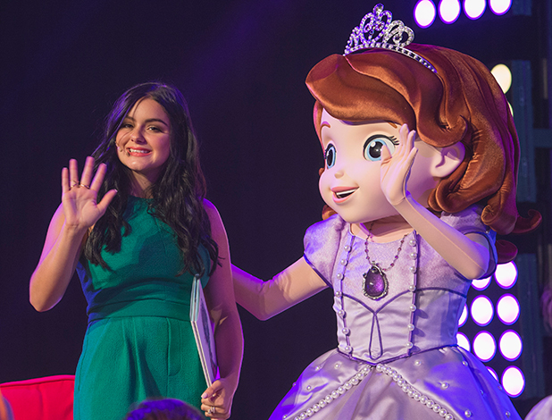 D23 EXPO, the ultimate Disney fan event, brings together all the past, present and future of Disney entertainment under one roof. Taking place August 14-16, this year marks the fourth D23 EXPO at the Anaheim Convention Center and promises to be the biggest and most spectacular yet. (Photo by Disney/Image Group LA via Getty Images) ARIEL WINTER
