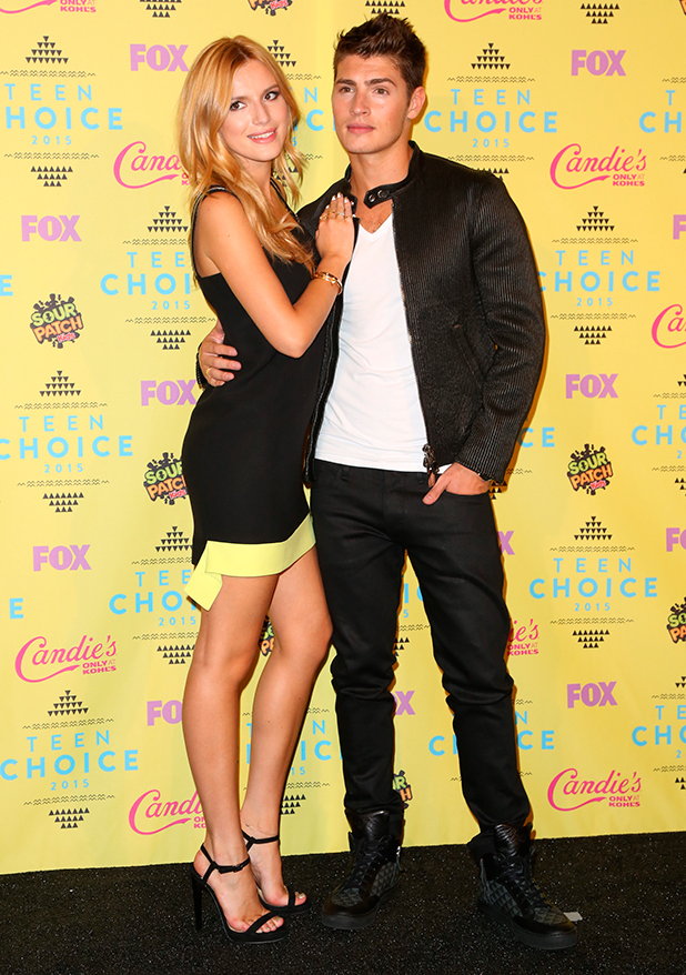 Bella Thorne, Gregg Sulkin at Teen Choice Awards 2015