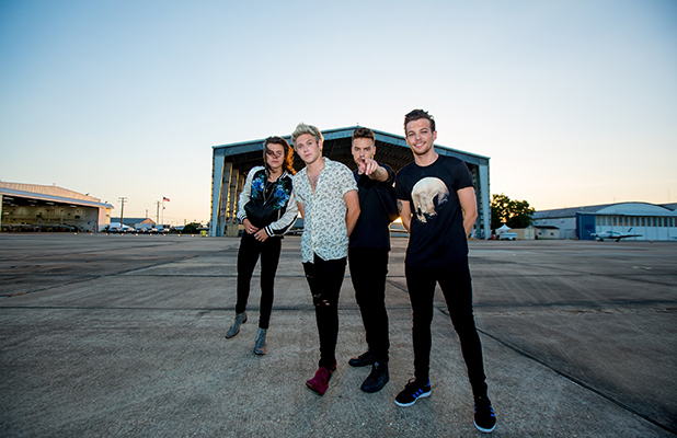 One Direction's Drag Me Down music video still 21 August 2015