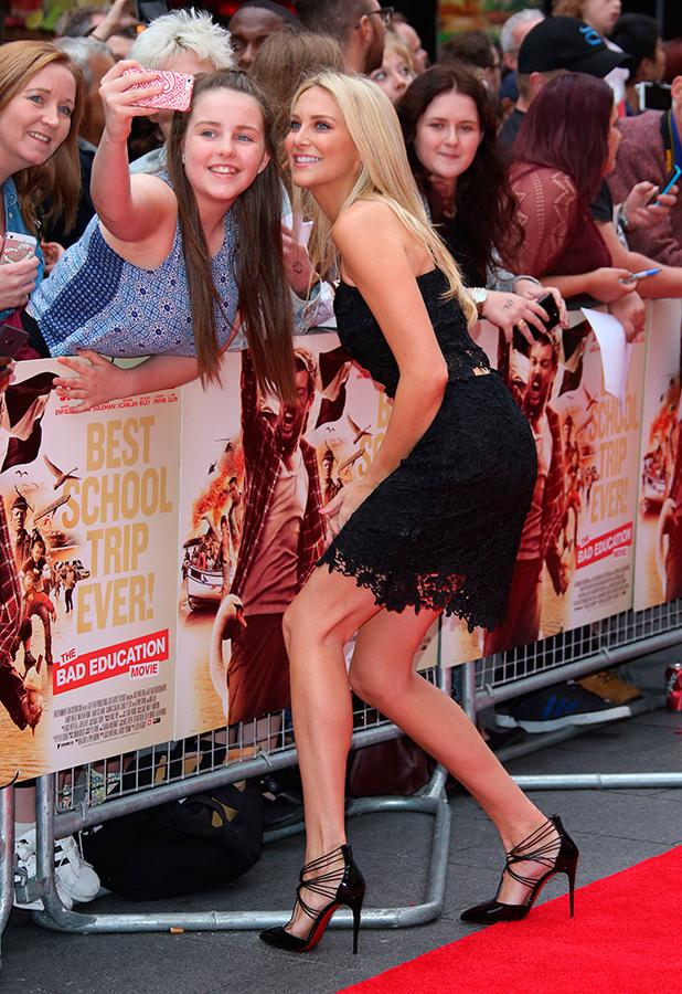 'The Bad Education Movie' UK premiere held at Vue Stephanie Pratt