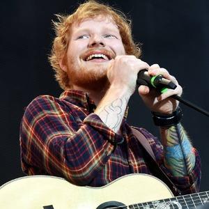 Ed Sheeran performs at Croke Park in Dublin 24 July