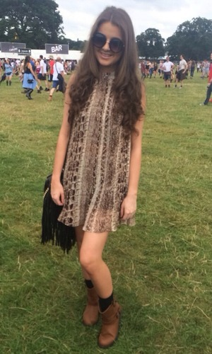 Brooke Vincent Blog: Girl at V Festival 27 August