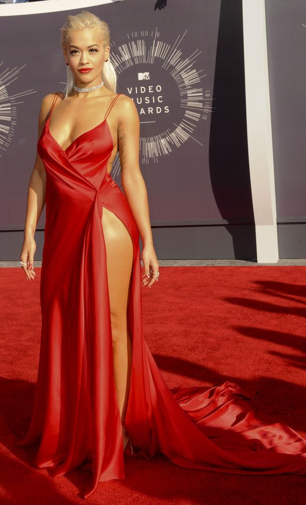 Rita Ora at the MTV VMAS in 2014, 28th August 2015