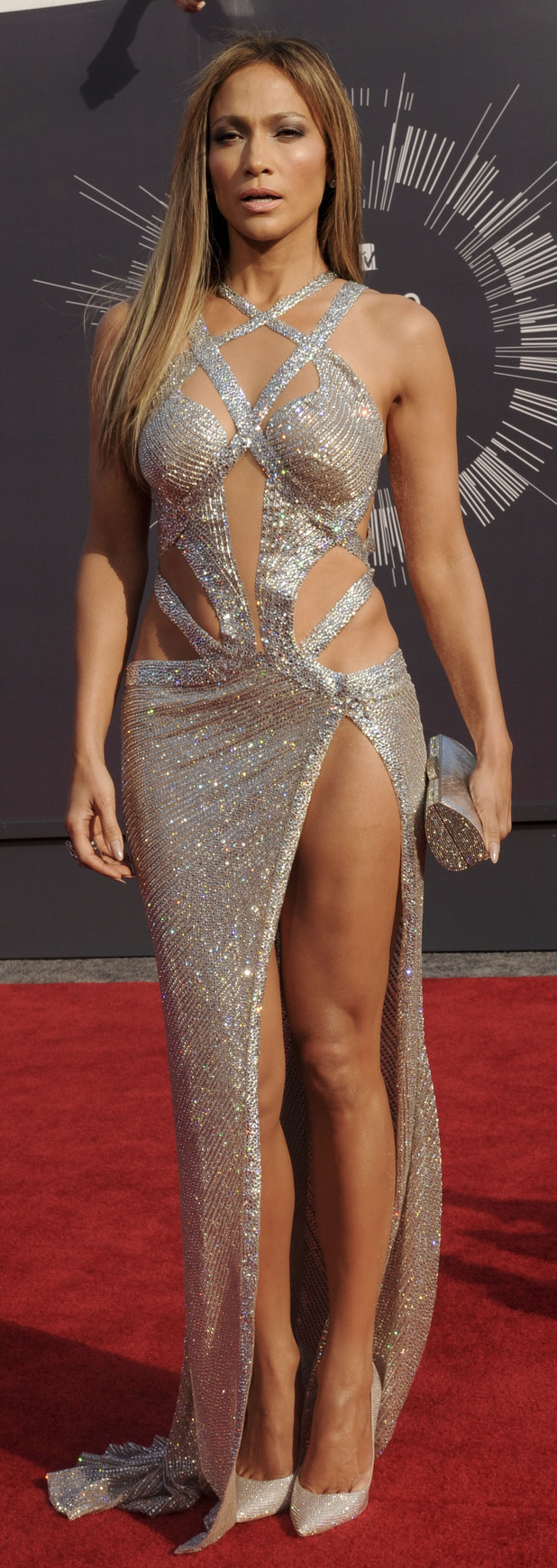 Jennifer Lopez at the MTV VMA's in 2014 28th August 2015