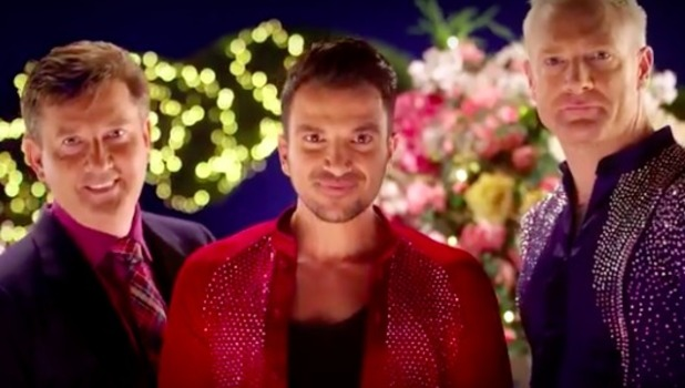 Daniel O'Donnell, Peter Andre and Iwan Thomas star in BBC's Strictly Come Dancing trailer.