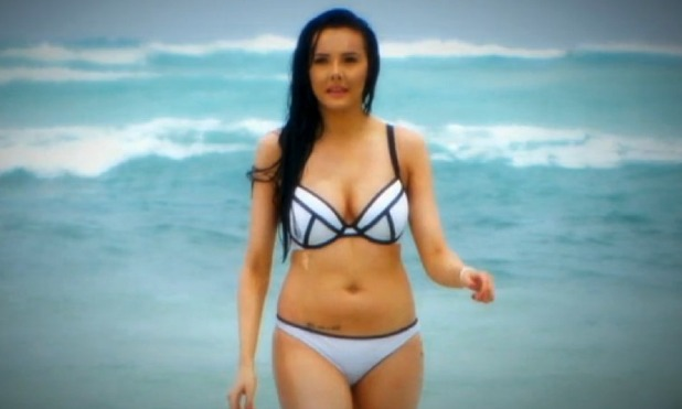Sarah Goodhart arrives on Ex On The Beach 25 August