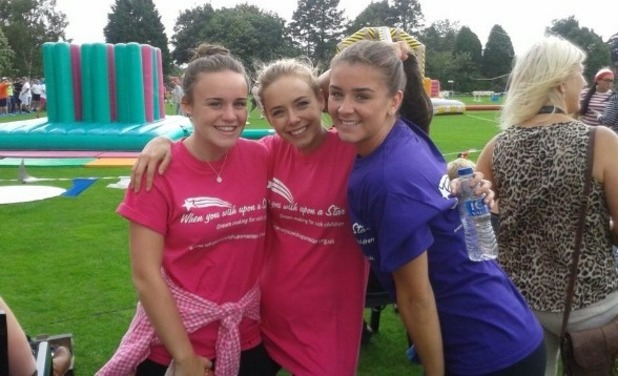 Brooke Vincent Blog: Brooke at Wish Upon A Star charity event 27 August