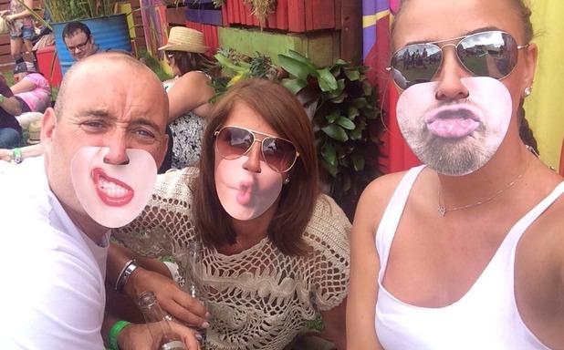 Brooke Vincent Blog: V Festival with family 27 August
