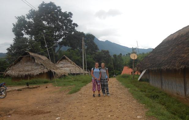 Trekking in Nong Kiaow, Laos, 30/8/15