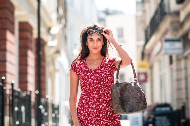 Kavita Sodha, a fashion blogger from the cast of Desi Rascals, August 2015