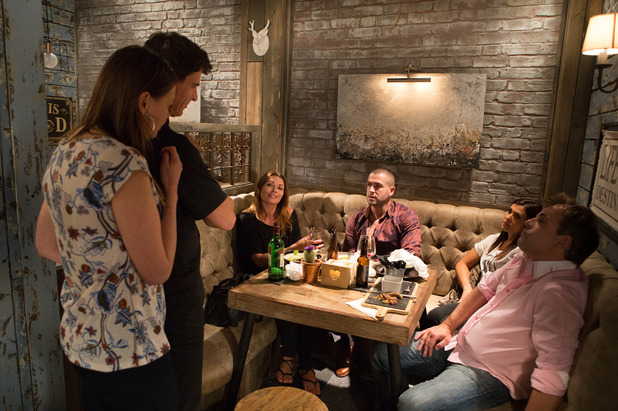 Corrie, Aidan complains about Robert's food, Thu 27 Aug