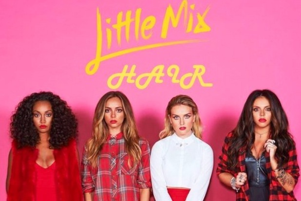 Jade Thirlwall, Perrie Edwards, Leigh Anne Pinnock, Jesy Nelson aka Little Mix, release new song Hair, 27th August 2015