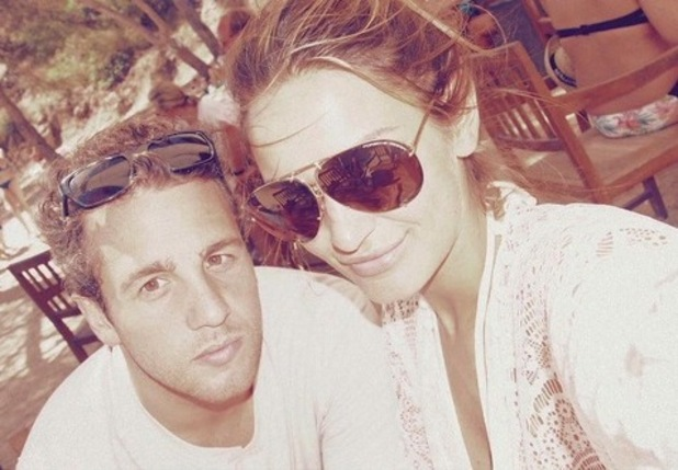 Sam Faiers and Paul Knightley take selfie on holiday 25 August