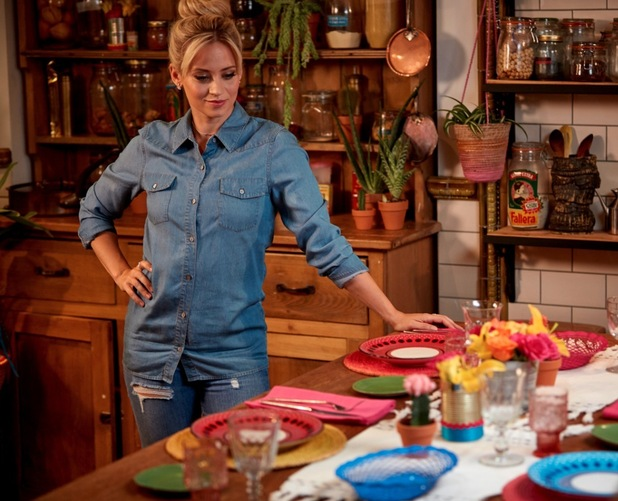 Kimberly Wyatt is the new ambassador for Old El Paso, August 2015