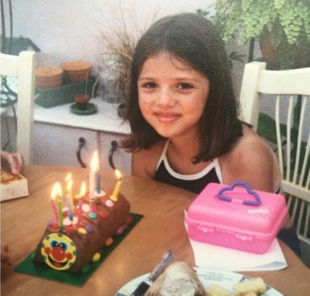 Lucy Mecklenburgh at nine years old, Instagram 24 August