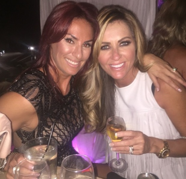 Dawn Ward with Lauren Simon ahead of Real Housewives of Cheshire, season 2