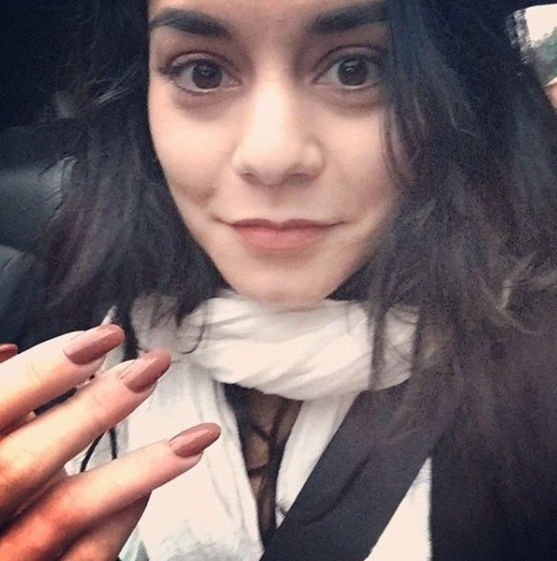 Vanessa Hudgens takes to Instagram to share picture of broken finger 26th August 2015