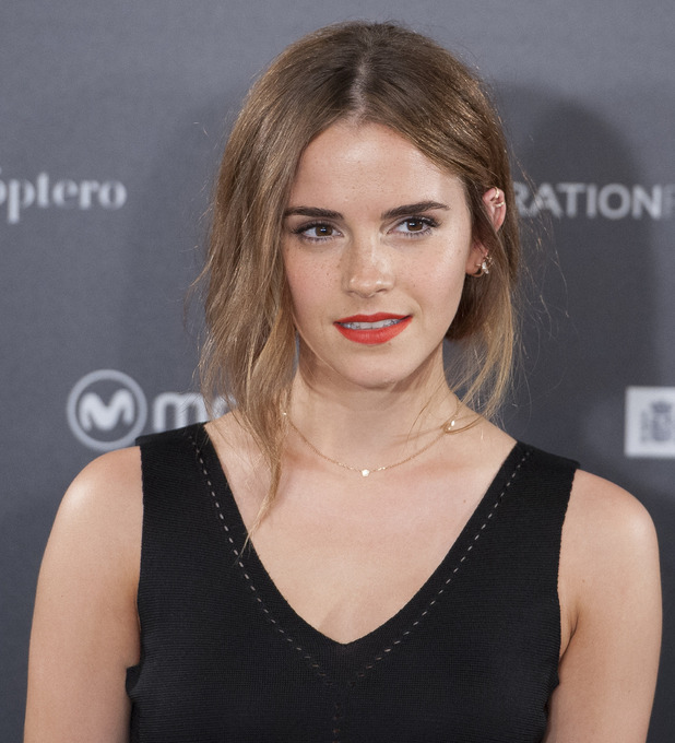 Emma Watson seen at the Regression Photocall, beauty look 27th August 2015