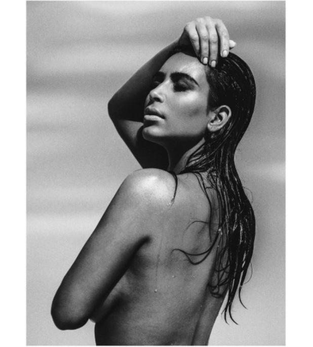 Kim Kardashian stars in shoot with C Magazine 28th August 2015