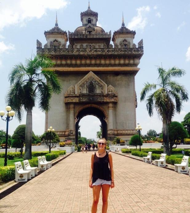Patuxai, Vientiane,Laos, 30/8/15