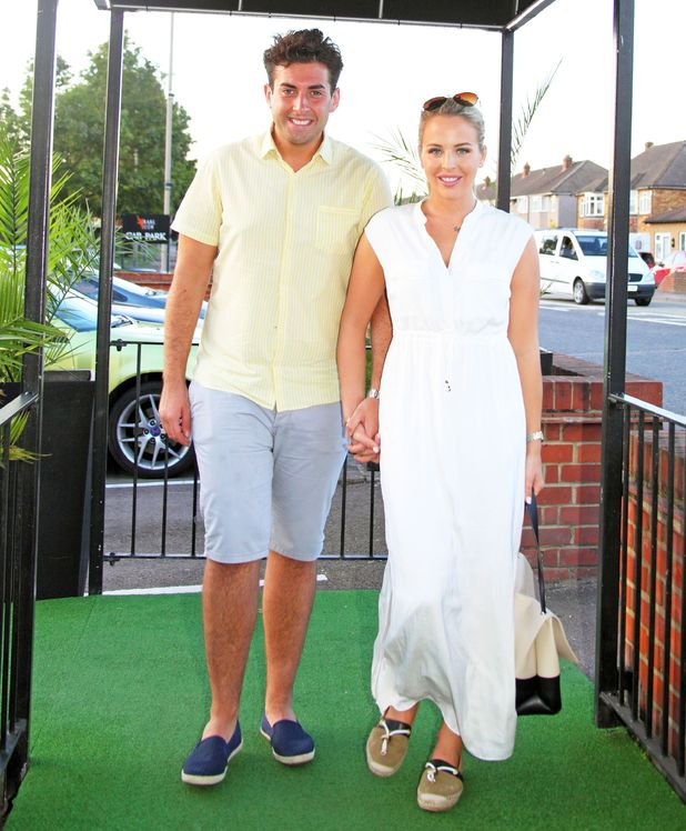 Lydia Bright and James Arg Argent attend Rare Cow Restaurant Official Launch, Waltham Abbey 22 August