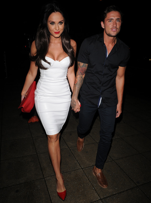 Vicky Pattison and Stevie Bear at Nu Bar in Essex, 29 August 2015
