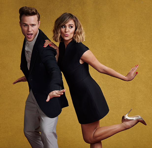 Caroline Flack and Olly Murs as X Factor hosts 2015