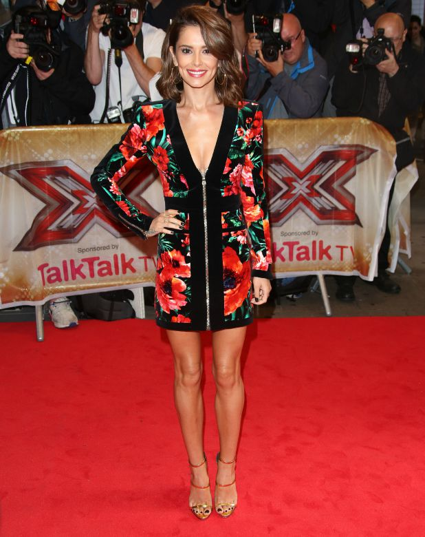 The X Factor press launch held at the Picturehouse Cheryl Fernandez-Versini