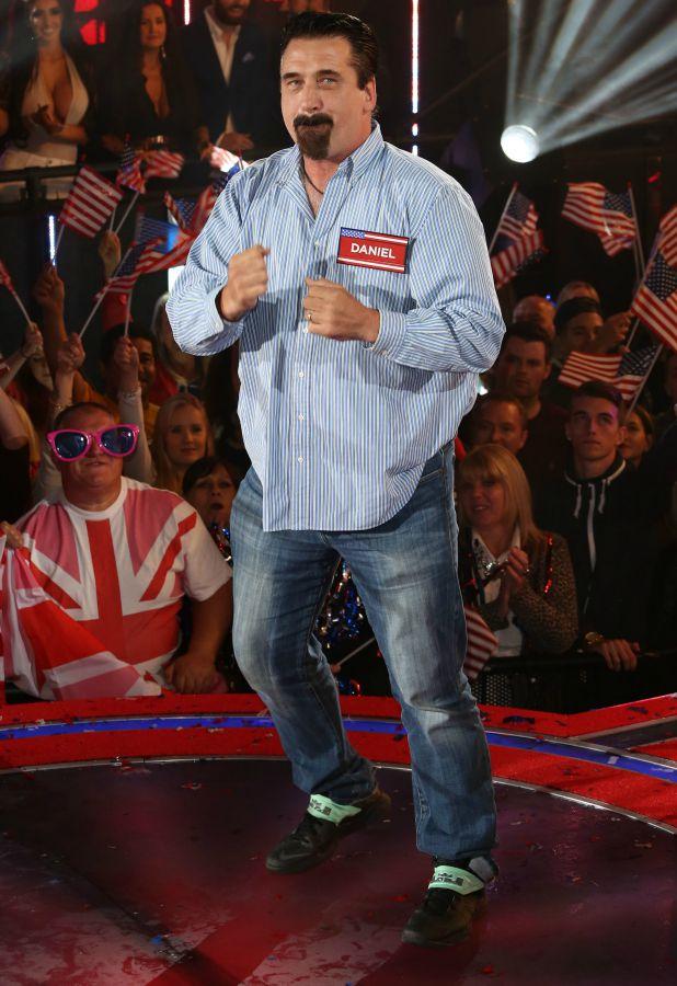 Daniel Baldwin Celebrity Big Brother launch show, 27 August 2015